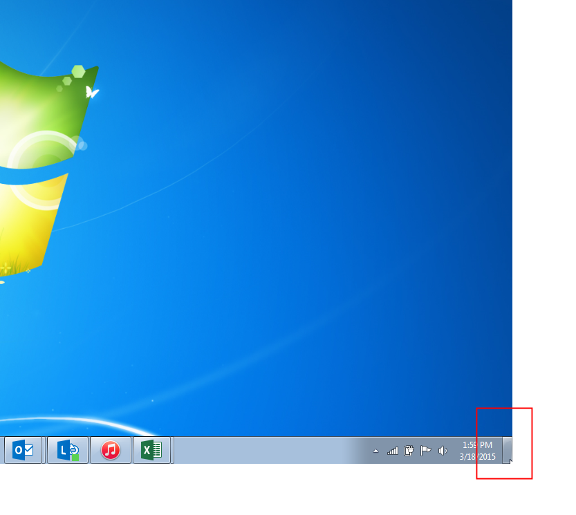show-desktop-windows-7
