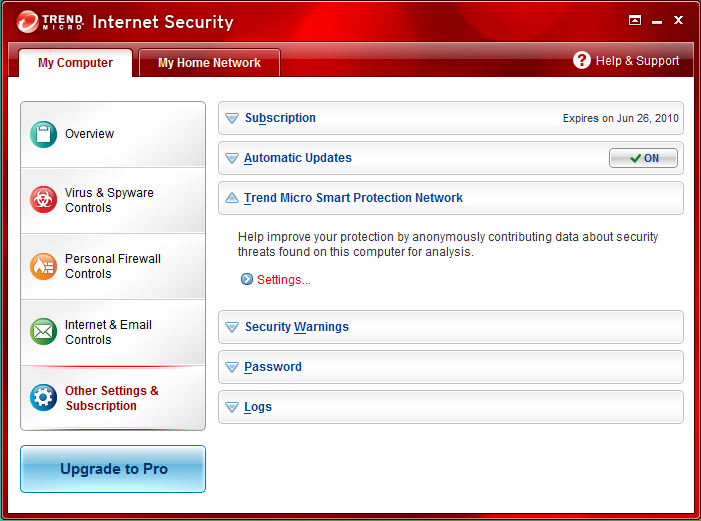 trend micro smart protection network widget Is Trend Micro Software Blocking Your Internet?