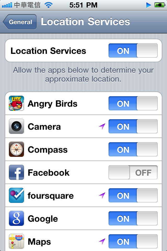 location services iphone Fixed: Cannot Upload Photos to Facebook from iPhone