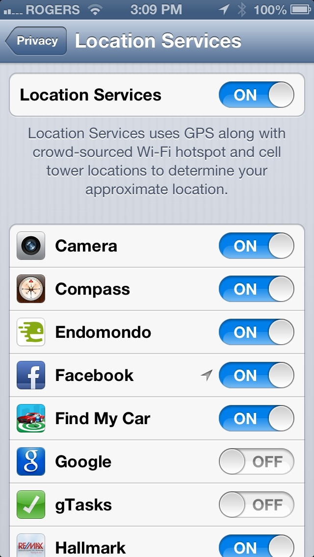 location services iphone How to Enable Location Services on iPhone iOS 6.x
