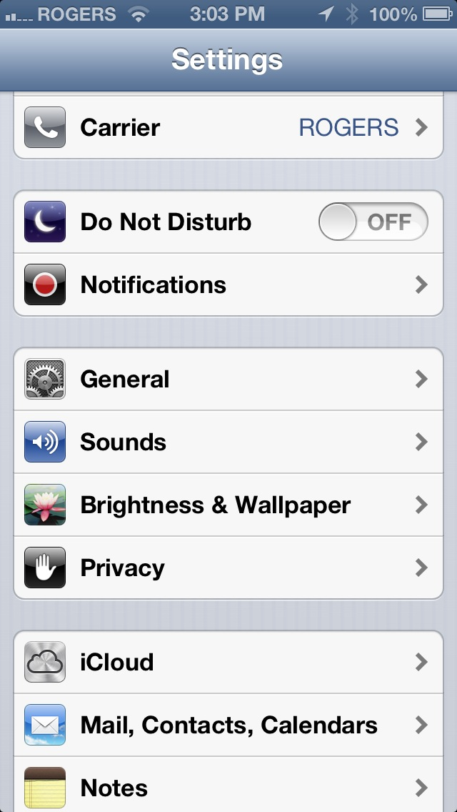 privacy option iphone How to Enable Location Services on iPhone iOS 6.x