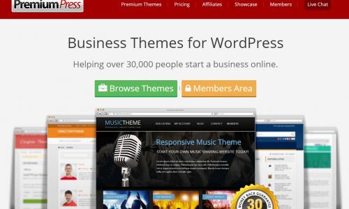 35% Off PremiumPress Themes